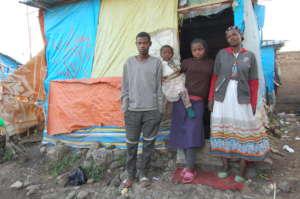 A family in Addis Abeba
