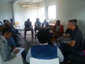 One of the meetings we held