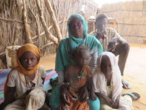 Hassina and her Family, Teiga Village