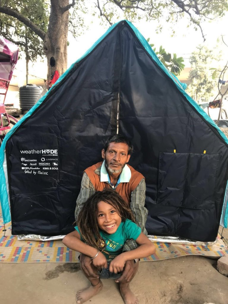 Give a Gift of Home to a Homeless Family in India