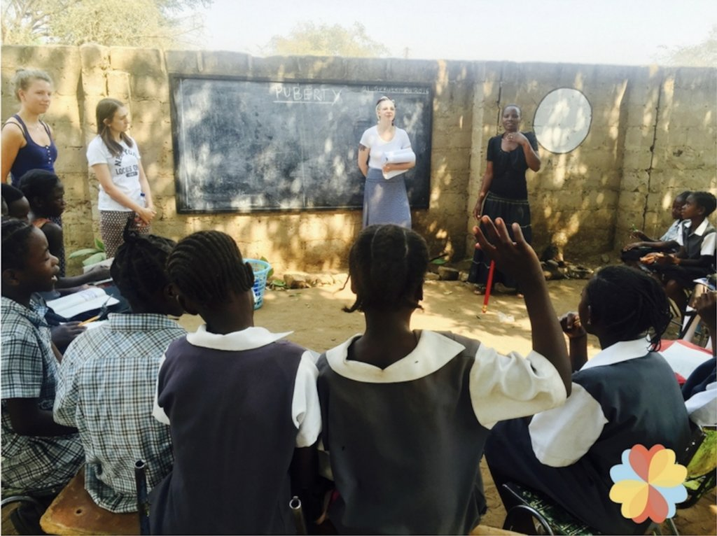 Building a Community Center to Empower 300 Girls