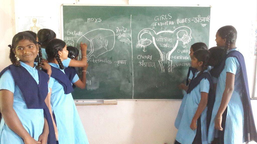 Menstrual Hygiene Kits for 1300 orphan girls,India