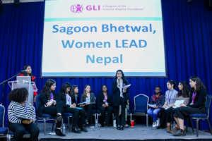 Sagoon Speaking About Girls' Political Empowerment