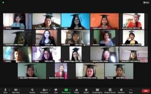 Snap from 2020 YWPLI Virtual Graduation Ceremony!