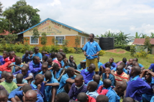 Boy vowing to advocate against rape