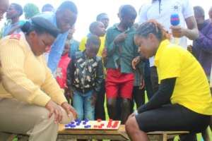 Area sub-chief and HFAW acting CEO, playing chess