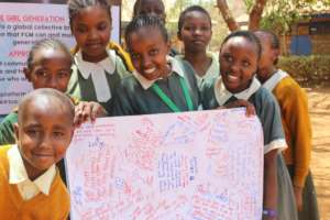 Pupils highlighting notes after the sessions