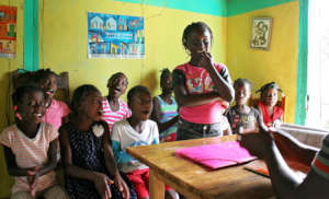 One of 16 Girls' Clubs in southeastern Haiti.
