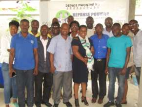 A preventing VAWG training for community groups.