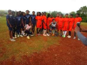 Girls' Groups created six soccer teams.