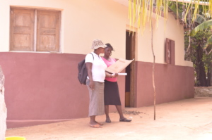 A preventing VAWG local activist at work.