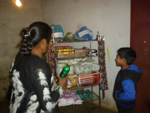 First customer of Eco-Store Panimaquin