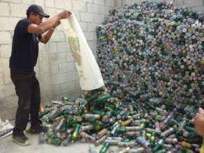 Eco-Store Panimaquin: over 700 eco-bricks a month