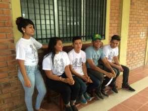 OYE youth in Honduras