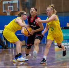 Virtus female basketball athletes