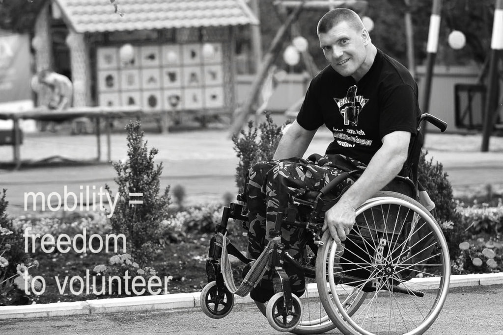 Deliver 200 UK Wheelchairs to Moldovan Youth