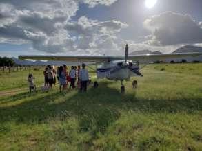 The RAM Guyana Air Ambulance