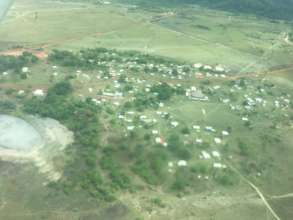 The remote village of Annai in Guyana.