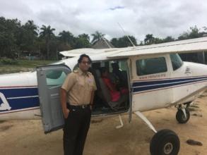 Andrew Shaw, RAM Volunteer Pilot