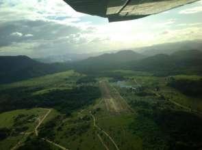 An airstrip in remote Guyana.