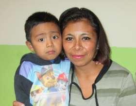 Brenda and her son, Daniel
