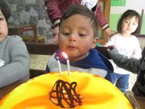 Antoni Alexander Celebrating his 2nd Birthday