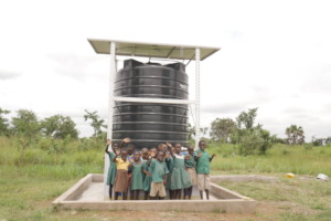 Abour School's Project Maji water kiosk