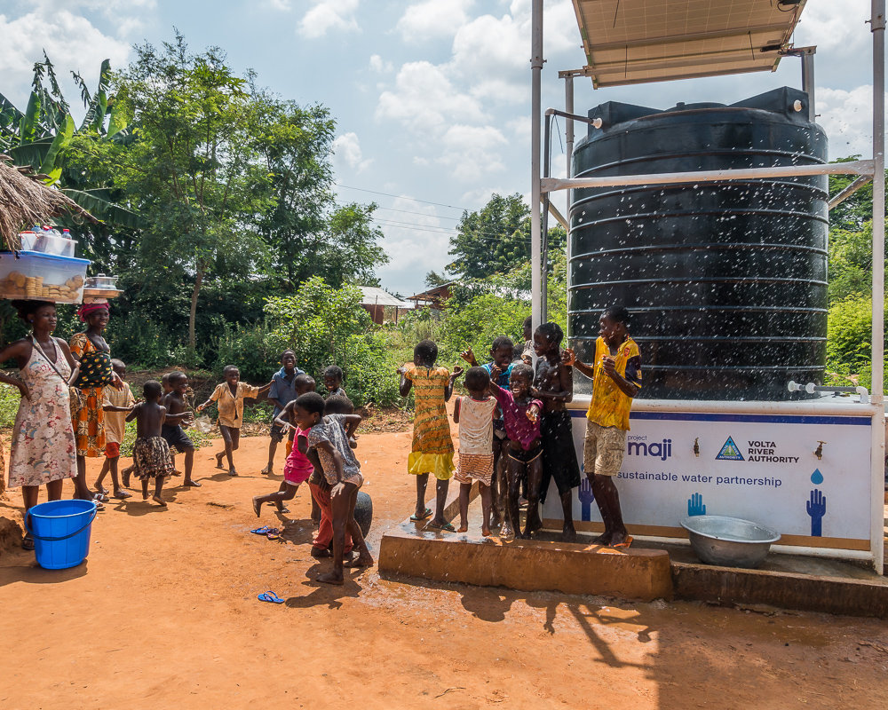 Sustainable Solar-Powered Water Kiosks in Ghana