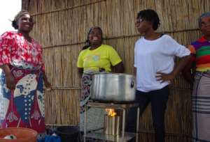 Innovative Charcoal Free Cook Stove in Mozambuque
