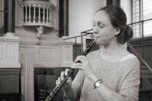 Principal oboe player Rachel Chaplin