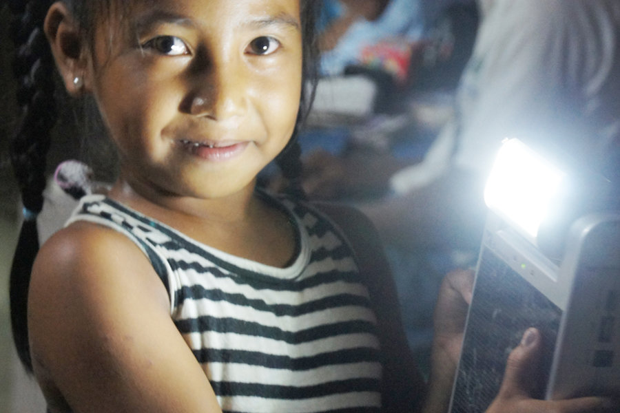 Solar-Powered Livelihood Center for 1375 Filipinos