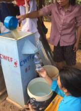 BioSand Water Filter in Action