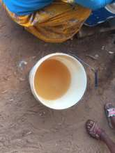 Water before going through BioSand Water Filter