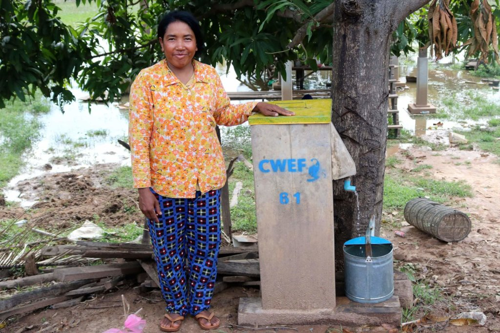 Clean Water for 300 Families in Cambodia