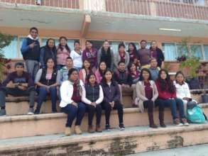 Students of the Education for Nonviolence Program