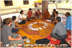 Group activity during 2011 INEB Conference