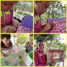Ivana, 7, making her theater