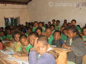 Inside a public school
