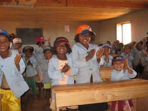 Students in the newly inagurated school