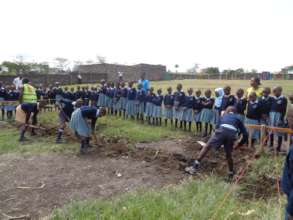 Children Breaking the Ground