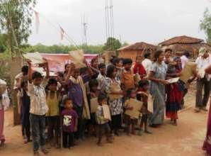 Education Packs for Children in Mahari Village