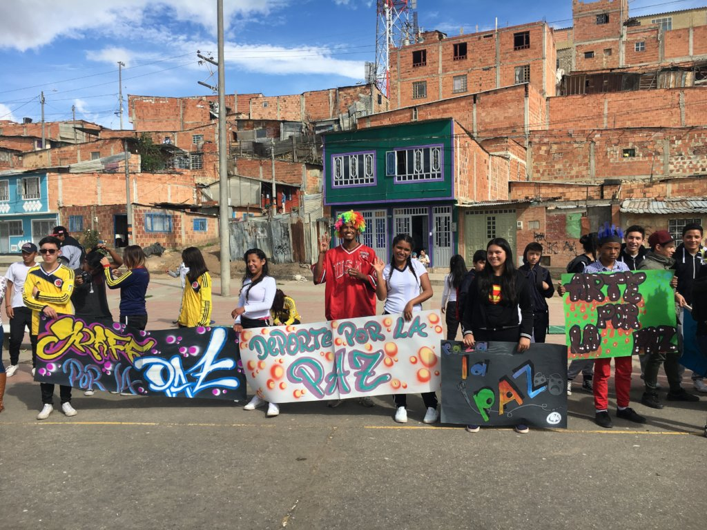 Paza la Paz - A step towards peace in Colombia