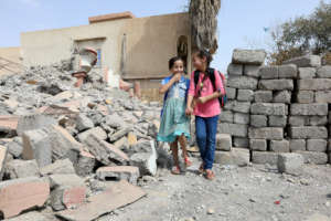 Girls going to school. Photo Credit:Simone Durante