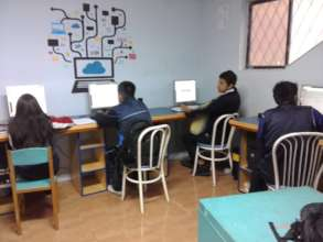 The center's computer lab