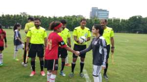 Huda-U16 Captain, before their group stage match.