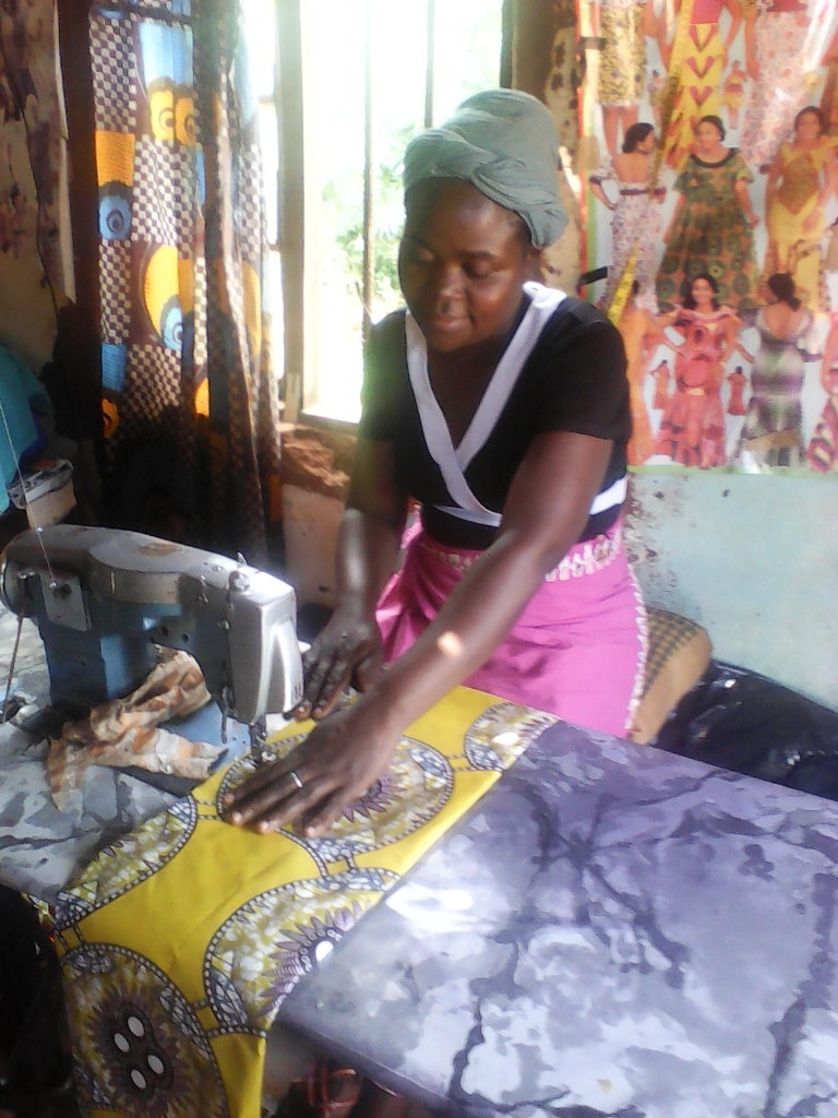 Tailoring business skill for chinseu women