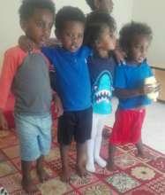 Group of children Numan orphanage