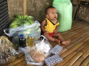 Feeding in remote villages