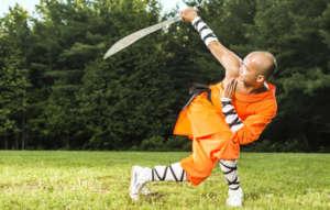 Shi Chang Dao, 35th Generation Shaolin Disciple