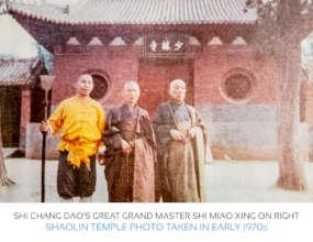 Shi Miao Xing, Great Grandmaster Shaolin Monk